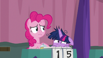 Pinkie realizes everyone's looking at her S9E16