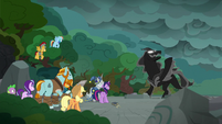 "Pony of Shadows ""when I extinguish the light"" S7E26"