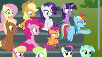 Rainbow Dash -total Wonderbolts ripoff!- S8E20
