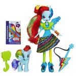 Rainbow Dash MLP EG RR (Muñeca y Pony)