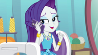 "Rarity ""V.I.P. passes!"" EGROF"