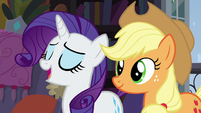 Rarity -everything is going to be just fine!- S5E16