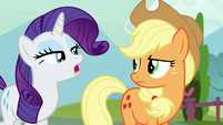Rarity -why are you so angry-- S7E9