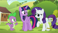 S06E10 Rarity żali się Twilight