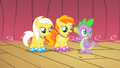 Spike awarding Sunny Daze and Peachy Pie S1E18.png