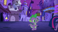 Spike watches Twilight walk away S5E12