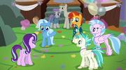 Trixie giving Starlight a friendship lesson S9E11