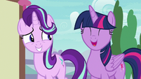 "Twilight Sparkle ""he's quite gentle"" S7E15"
