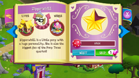 Zipporwhill album art MLP mobile game