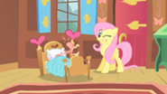 201px-Fluttershy and coughing Philomena S01E22