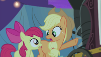 "Applejack ""Because he's part of the act!"" S4E20"