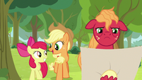 "Applejack ""just one more hill to go!"" S9E10"