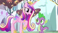 Cadance -you're not enjoying speaking for Twilight- S5E10