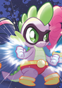 Comic issue 3 Superhero Spike