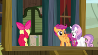 Cutie Mark Crusaders put their plan in action S5E6