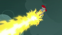 Flash Magnus blocking more of Torch's fire S7E16