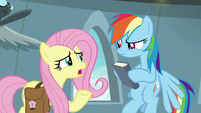 "Fluttershy ""I guess he's a new writer"" S9E21"