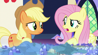"Fluttershy ""I hope not"" S8E1"