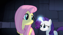 Fluttershy and Rarity trapped S4E03