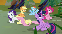 Mane Six overwhelmed by vines S9E2