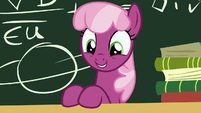 Miss Cheerilee smiling adorably S7E23