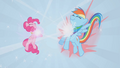 Necklaces forming for Pinkie Pie and Rainbow Dash S01E02.png