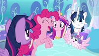Pinkie --AND have crazy baby magic!-- S6E1
