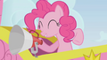 Pinkie Pie aboard a hot air balloon S1E13.png