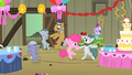 Pinkie Pie dancing with family S1E23.png