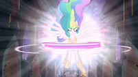 Princess Celestia Activating the Elements S04E02