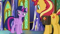 Princess Twilight nervous to share her idea EGFF