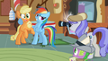 Rainbow Dash Picture With Applejack S2E08.png