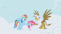 Rainbow Dash and Gilda DENIED S1E5