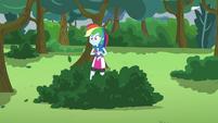 Rainbow Dash left behind EG3