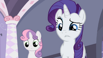 "Rarity ""Not bad"" S2E05"