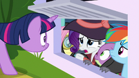 "Rarity ""in retrospect"" S9E4"