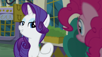 "Rarity ""when it comes to food"" S6E12"
