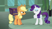 Rarity -a disaster was averted- S5E16
