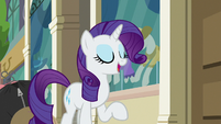 Rarity -knew Fluttershy had it in her- S8E4