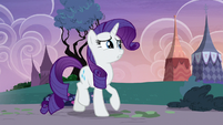 Rarity in a stuttering shock S7E9