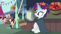 Rarity looking at her to-do list S7E19