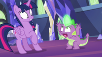 "Spike freaking out ""what's happening?!"" S7E15"