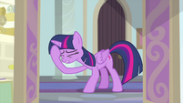 Twilight Sparkle face-hoofs MLPS4