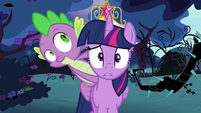 Twilight and Spike are lost S4E02