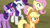 Twilight and friends in shock S4E18