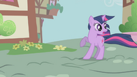 Twilight sees Snips and Snails speed by S1E06
