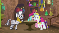 "Zecora ""the infinitely splitting end!"" S7E19"