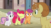 "Apple Bloom ""the Cutie Mark Crusaders are..."" S7E8"