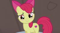 Apple Bloom blushing S5E20