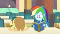 Applejack puts her head on the lunch table EGDS4.png